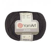 Хлопковая пряжа YarnArt Jeans 28 граффит (ЯрнАрт Джинс)