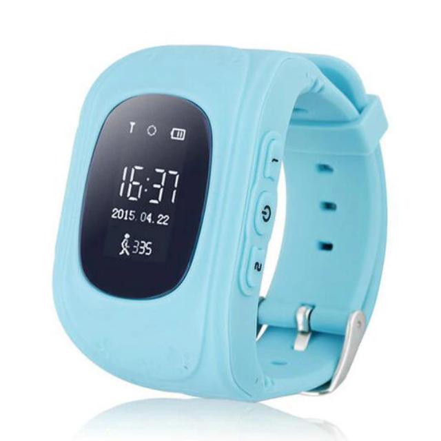 Детские умные часы UWATCH SMART Q50 BLUE с GPS