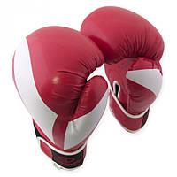 Перчатки (красные) боксерские PVC 10 oz Europaw