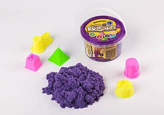 Кинетический песок фиолетовый Kidsand 0,5 кг Danko Toys (KS-01-02)
