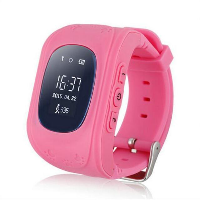 Детские умные часы UWATCH SMART Q50 ROSE с GPS