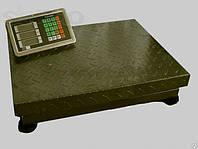 """Весы на 300 кг. Усиленные. Рифленая платформа 45 х 60 см. """"ОЛИМП"""" - Украина."""
