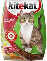Kitekat сухой корм мясной банкет для кошек 13 КГ