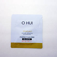 Солнцезащитный крем O HUI Perfect Sun Black SPF 50+ /PA+++, Пробник