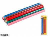 Стержни клеевые цветные Mastertool 42-0155