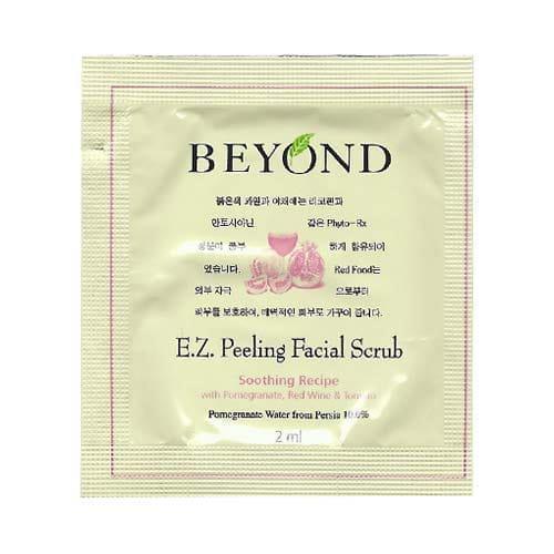 Очищающий пилинг скраб Beyond E.Z Facial Scrub, Пробник