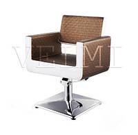Кресло клиента Gven VM812, на гидравлике хром, фото 1