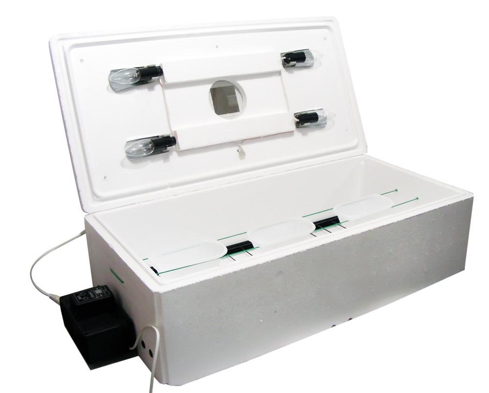 Инкубатор «Курочка Ряба» ИБ-84-Л автоматический в литом корпусе