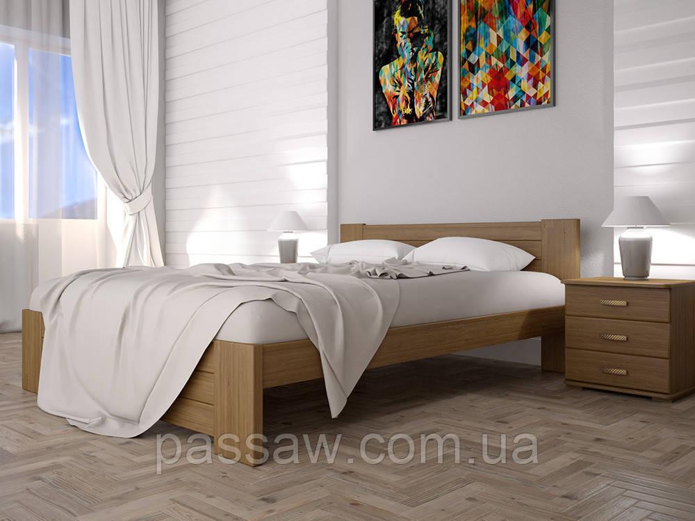 Кровать ТИС ИЗАБЕЛЛА 3 140*200 сосна