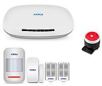 Комплект GSM сигнализации Kerui alarm G1 Start, Гарантия 12 месяцев