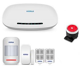 Комплект GSM сигналізації Kerui alarm G1 Start, Гарантія 12 місяців
