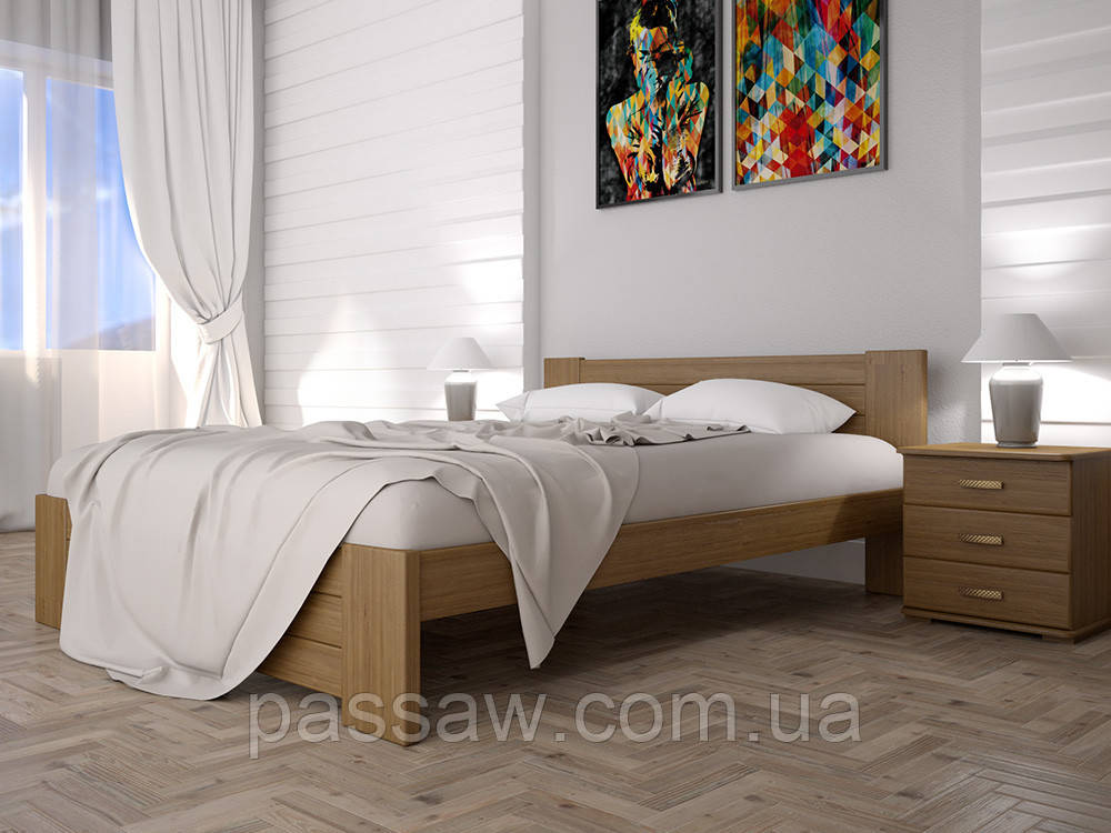 Кровать ТИС ИЗАБЕЛЛА 3 140*200 бук