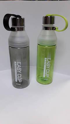 """Бутылка для воды 650мл """"Easy cup"""" №555 , фото 2"""