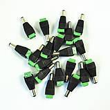 Коннектор клемник + штекер DC 5,5мм\2,5мм (папа), фото 5
