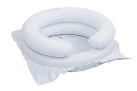 Надувная ванночка для мытья головы, белая