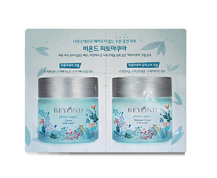 Beyond Phyto Aqua Cream & Moisture Cream, Пробник 1+1