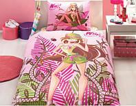 Детское постельное бельё TAC Winx Nature Flora (Винкс натуре Флора)