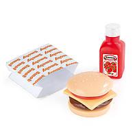 Мини Burger набор Fast Food Smoby 24004B