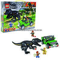 Конструктор Побег Парк Юрского периода 82029 (Аналог Lego Jurassic World) 277 деталей