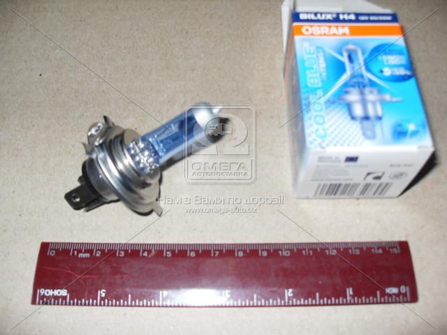 Лампа фарная H4 12V 60/55W P43t Cool Blue Intense (производитель OSRAM) 64193CBI-FS