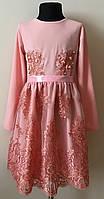 Детское платье для девочки 7-10 лет нарядное, фото 1