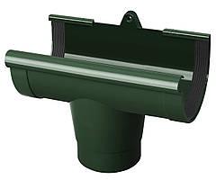 Воронка желоба 90/75 Ренвей (Rainway)  зеленый