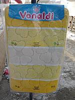 Коврик для ванной и туалета желтая полоска (в наборе 3 шт.)