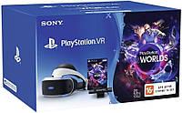 Шлем виртуальной реальности PlayStation VR (Bundle) + PS Camera + VR Worlds, фото 1