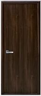 Двери межкомнатные Стандарт ПГ орех premium ПВХ DeLuxe
