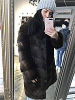 Распродажа  Шуба из лесной норки, размер 46/48