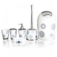 Набор аксессуаров для ванной комнаты Фейерверк (6 предметов)