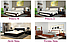 Комплект: кровать деревянная Регина, тумба, комод, фото 9