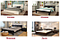 Комплект: кровать деревянная Регина, тумба, комод, фото 10