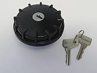 Крышка топливного бака ВАЗ 2101 - 2107 металлическая с замком. Пробка бензобака, фото 1