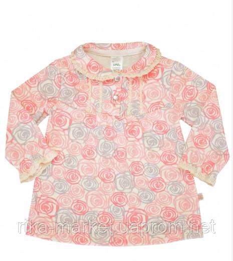 Блуза детская ТМ СМИЛ арт. 114376, возраст от 6 до 18 месяцев