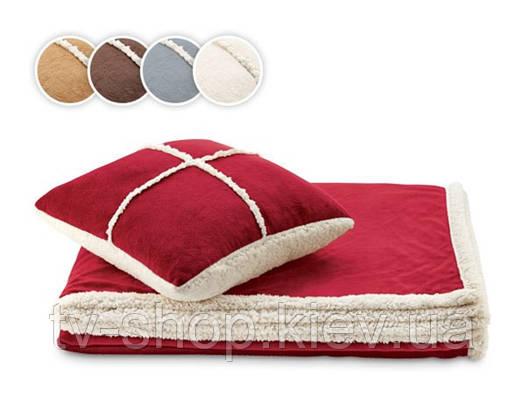 Набор Dormeo одеяло+подушка «Теплые объятия» (коричневый)