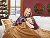 Набор Dormeo одеяло+подушка «Теплые объятия» (коричневый), фото 3