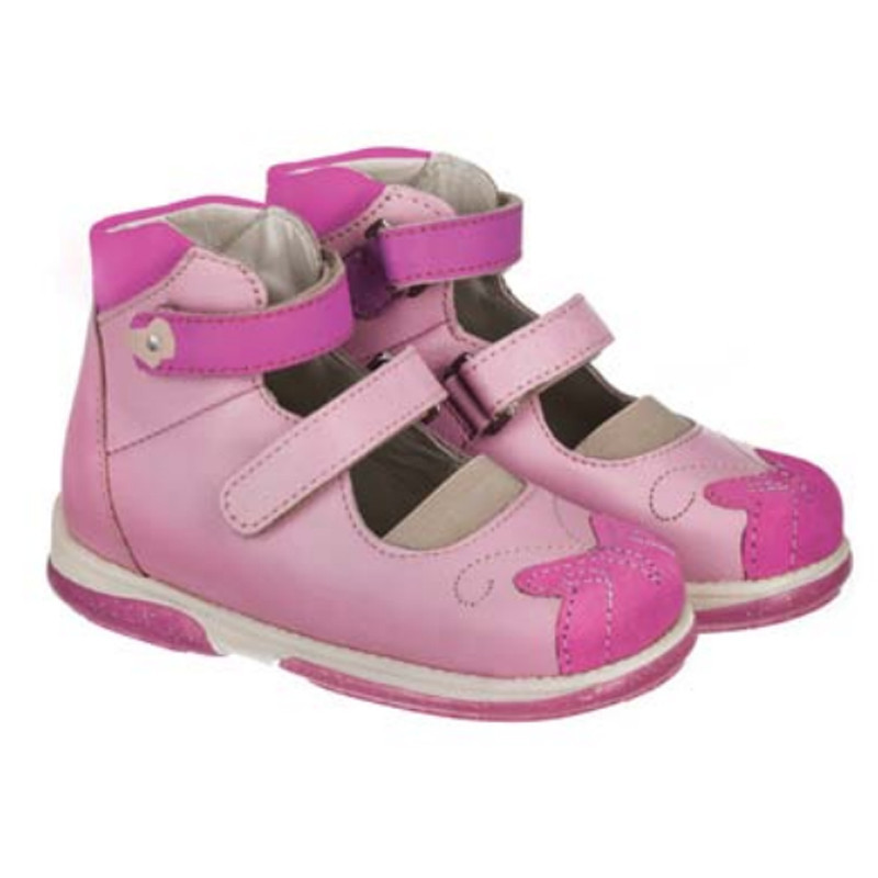 b578f3e7cf0037 Купить Ортопедические туфли для девочек Memo Princessa 3JE Розовые в ...