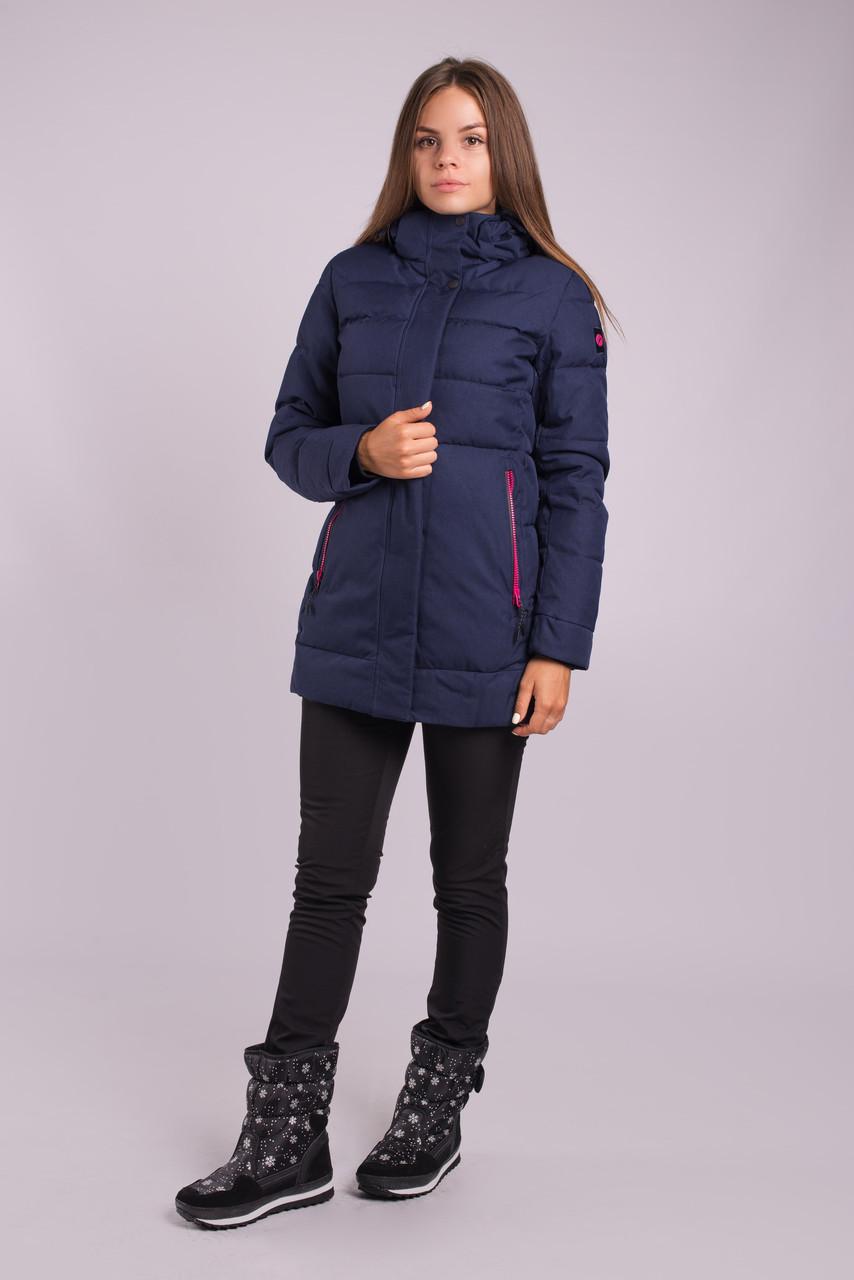 Зимняя куртка женская Avecs 70339 темно-синий