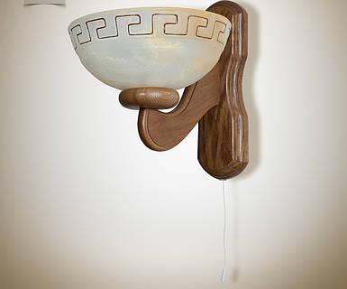 Бра деревянное для кухни, спальни 037