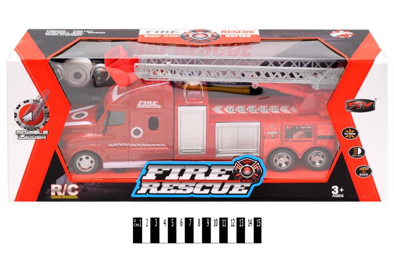 Пожарная машина на радиоуправлении, коробка43*13*17,5 см, 666-194A