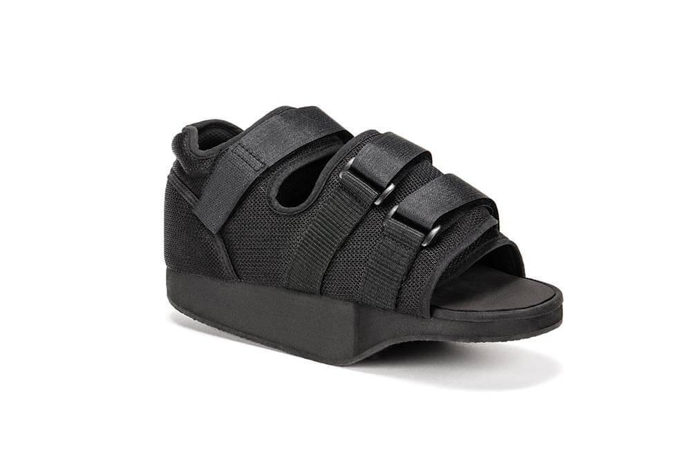 Послеоперационная обувь (туфли барука) с разгрузкой переднего отдела - Qmed Postoperative Shoe