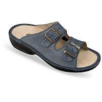 OrtoMed 3718 Синий, Пряжка - Женские ортопедические босоножки для проблемных ног