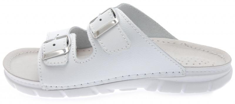 OrtoMed 3026 Белые, Пряжка - Женские ортопедические босоножки для проблемных ног