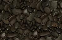 Аквариумный грунт Черная Галька Collar (Коллар) 10-15 мм, 3 л