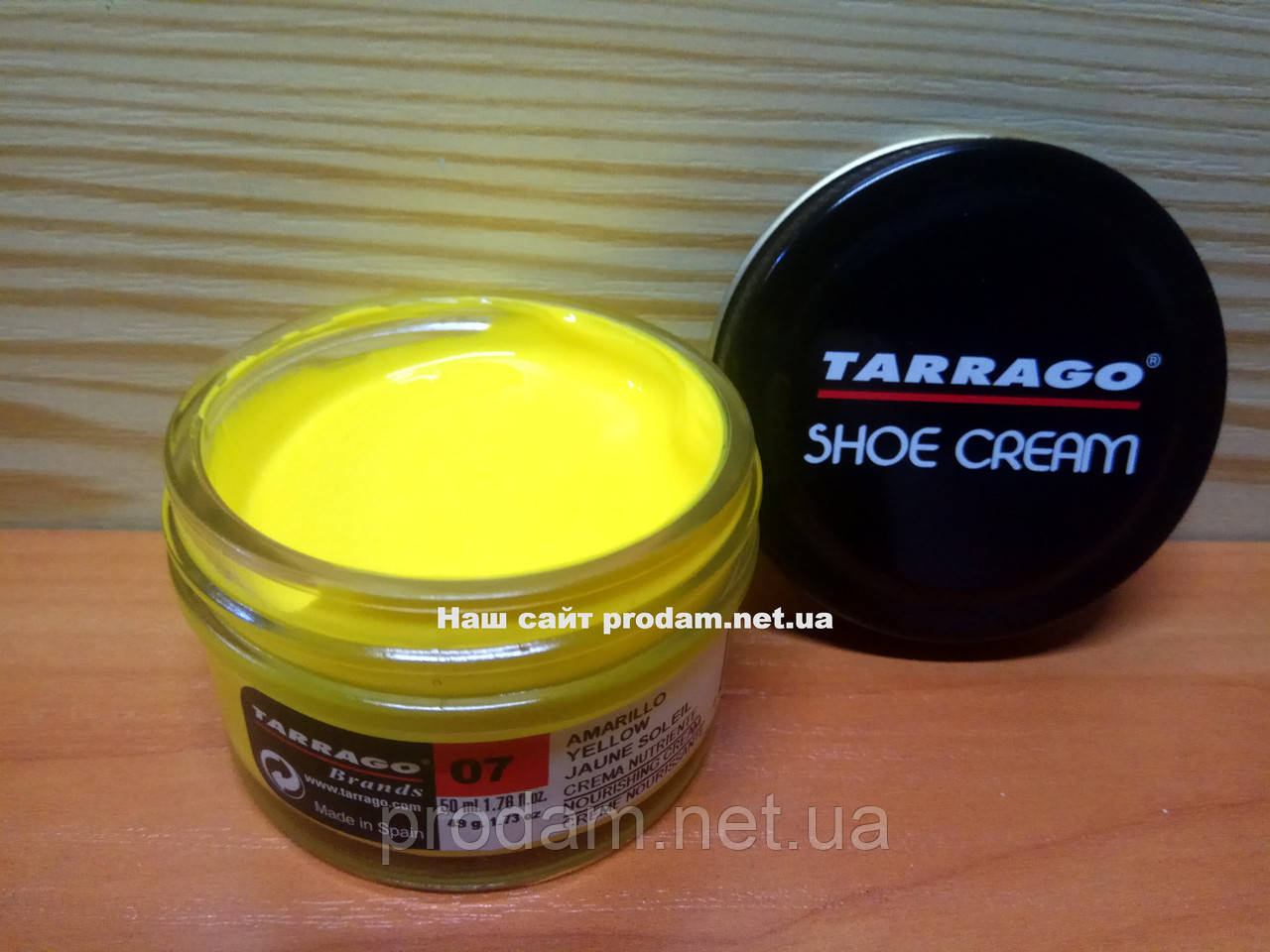 Крем для обуви Tarrago 07-giallo