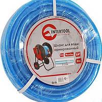 """Шланг для воды 3-х слойный 3/4"""", армированный PVC INTERTOOL GE-4079"""