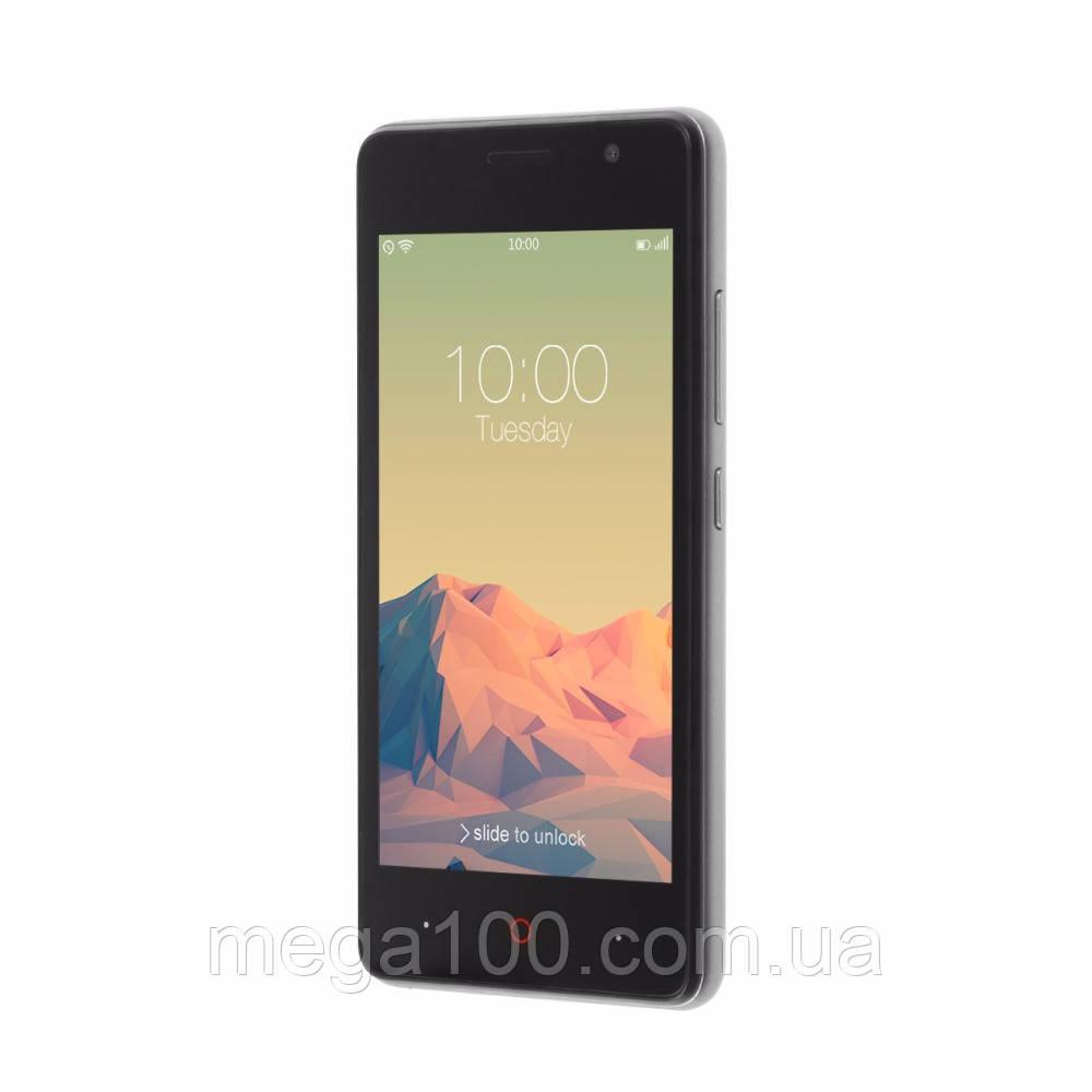 Смартфон Doopro P4 цвет серый (экран 4,5 дюймов, памяти 1\8Gb, емкость акб 3200 мАч)