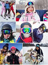 Горнолыжная маска FEIUY (071) очки для сноуборда, фото 2