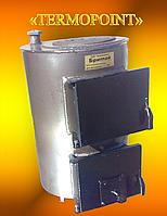 """Котел твердотопливный с плитой для приготовления пищи """"Бритай"""" КОТВ-М-18П мощностью 18 кВт с плитой"""